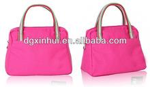 blank women canvas hobo handbag korean style