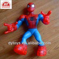 Super hero plastic toy spider man