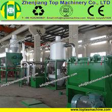 LLDPE film recovering machine |farm film, water bags, waste bags crushing washing recycling machine manufacturer