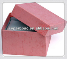 customized high quality Separate base and lid paper box