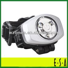 2014 Detonation 3 led headlight;3 led touch head lamp ;high power led headlight LD-H30676