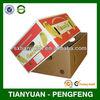 Paper cardboard banana cartons,fruit carton box