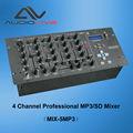 Fuente de la fábrica profesional mp3/sd reproductor de mezclador