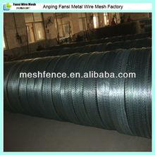450mm coil diameter anti-corrosion high tensile long-lasting razor wire fence installation
