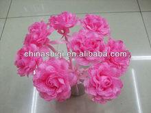 novelty fancy style pretty bloom flower craft ballpoint pen