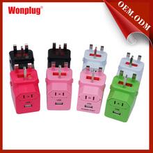 Uk/eu/us/aus Type Plugs Outdoor Plug Adaptors