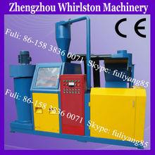Scrap copper cable crusher and separator machine/copper wire separator