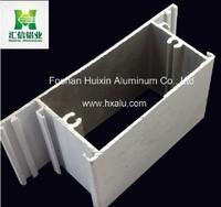 aluminium extrusion sections, Aluminium Profile for casement window frame Ghana market
