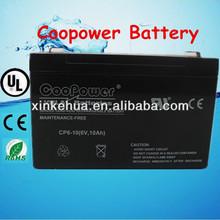 Alarm battery /solar battery 6v10ah