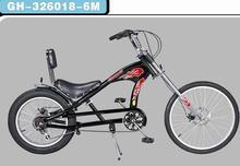 20''-24''chopper bike,whole black chopper,fat tire chopper bicycle
