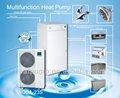 Multifonctionnel, diviser pompe à chaleur air eau