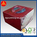 Modificado para requisitos particulares personalizado de la torta / cajas de comida rápida