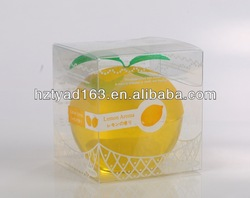 Apple shaped gel air freshener for home and car