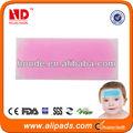 de color rosa para reducir la fiebre de gel frío parche para baby