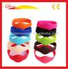 Eco-Friendly Personalized Fluorescent Silicone Wrist Bracelets