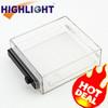 Manufacturing Top sale S018 transparent Medium software box,portable security box