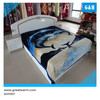 2014 new designs 100% polyester super soft polyester korean mink royal blanket