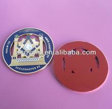 Gold masonic auto car badge, mason auto car emblem sticker, masonic metal emblem