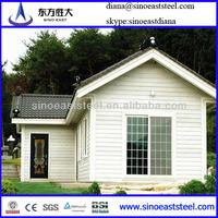 Steel Light Pre-fabricated Villa/steel structure house