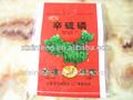 Transparent rot pp.-beutel/sack mit top gesäumt für lebensmittel/Karotten/Kartoffeln/Korn exportiert chile