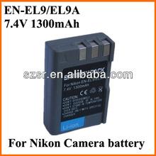 Digital camera battery shop for Nikon D5000
