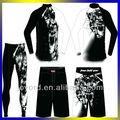 Sublimation MMA vêtements avec un Design personnalisé