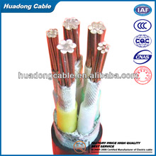 2014 Environment-friendly 450/750v PVC insulated Automotive Control Cable/Automotive Control Cable