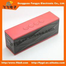2014 best design Portable and mini bluetooth speaker with FM radio,18 inch speaker