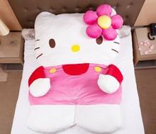 2014 newest design Chinchilla totoro bed sleeping pad bag hello kitty bed