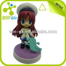 China cheapest plastic action figure, small custom figure toys