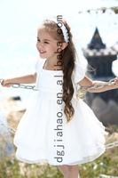 NEW ARRIVAL!2014 fashion baby girl flower dress for wedding