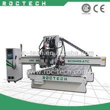 Wood Design CNC Machine Price with Borning Unit RC2040S-ATC