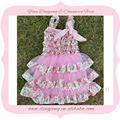 elegante nice crianças princesa vestidos de noiva