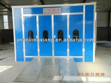 painting & baking booth with heater exhaust paint booth exhaust fan powder coating booth