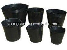 black nursery pots plastic nursery pots for small plants