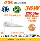 NEW 2014 ETL certified 100-277V 48-inch Led shop light 36W 2500lm 4000K