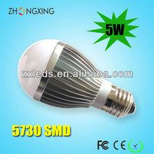 Energy saving! 5W LED Light bulb With CE and RoHS,5w led bulb light e27