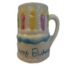 Popular Birthday Gift Kid's Favor Wholesale Ceramic Mug