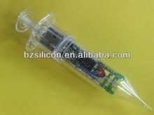 Promotional syringe usb flash drive, brand your own logo