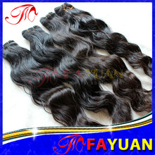 Dyeable natural wave Brazilian ombre hair weave