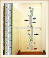 Shanghai lingfeng 50*70cm autoadesivo della parete tabelle di crescita decorativi