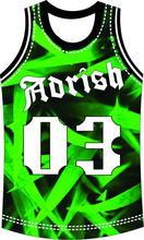 sublimated reversible custom us ncaa latest basketball jersey design