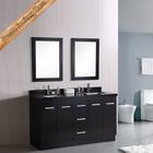 Floor mount modern meuble salle de bain double