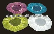 Medical Disposable Products Disposable Nurse Cap,White Clip Nurse Cap, Made of Nonwoven
