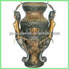 large india antique brass vase BASN-W048