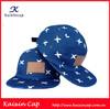 Print 5 Panel Caps/ Hawaiian camp Cap/ Denim cap