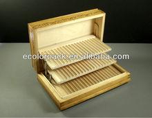 Pyrograph cigarette tobacco counter jewelry display box