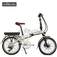 MOTORLIFE/OEM EN15194 36v 250w 20 inch electric bike folding