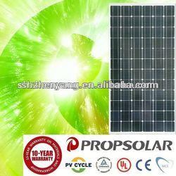best price per watt 100% TUV Standard mono pv solar panel 265w
