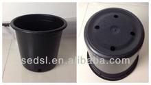 plastic plant pots, plastic pots,black nursery pots wholesale